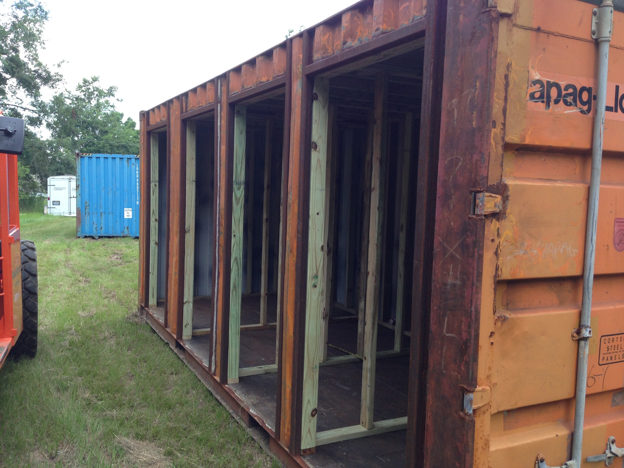 Shipping Containers Gulf Coast Welding Inc